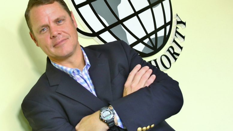 Global sales: Brad Hemingway, executive director of the Islip Foreign Trade Zone Authority, has good things to say about Ronkonkoma's Foreign Trade Zone No. 52. (Photo by Bob Giglione)